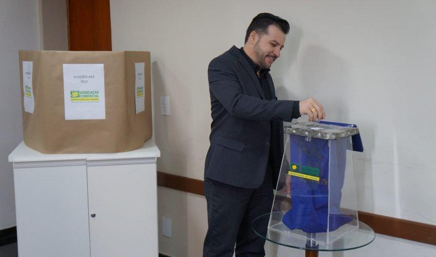 Monteiro & Valente - Advogados Associados - Mark William é o novo presidente da ACE Jundiaí