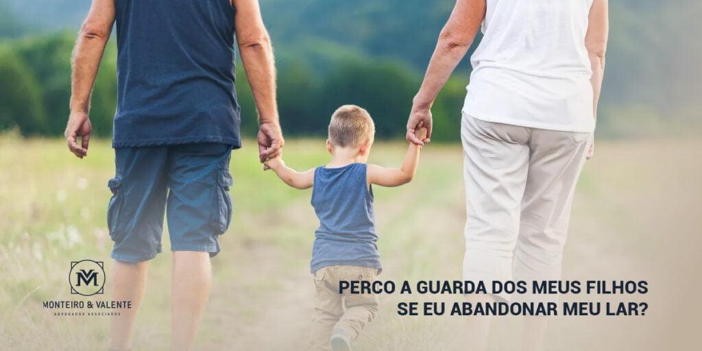 Perco a guarda dos meus filhos se eu abandonar meu lar?